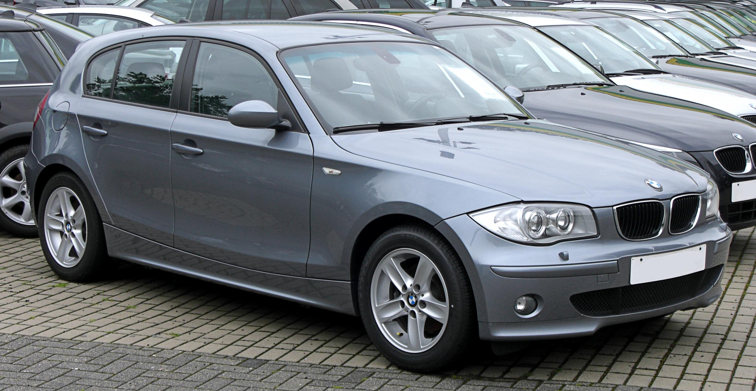 Pictures of bmw 1er (e87) 2008 #9