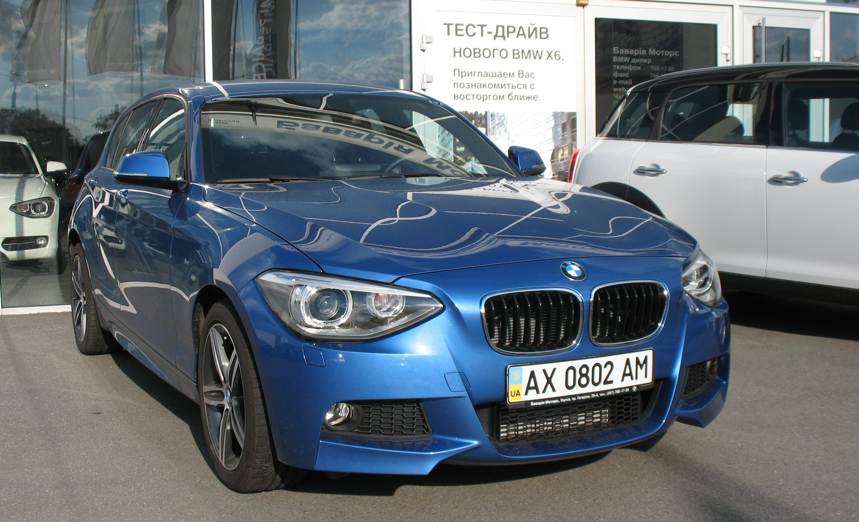 Pictures of bmw 1er (f20) 2014 #2