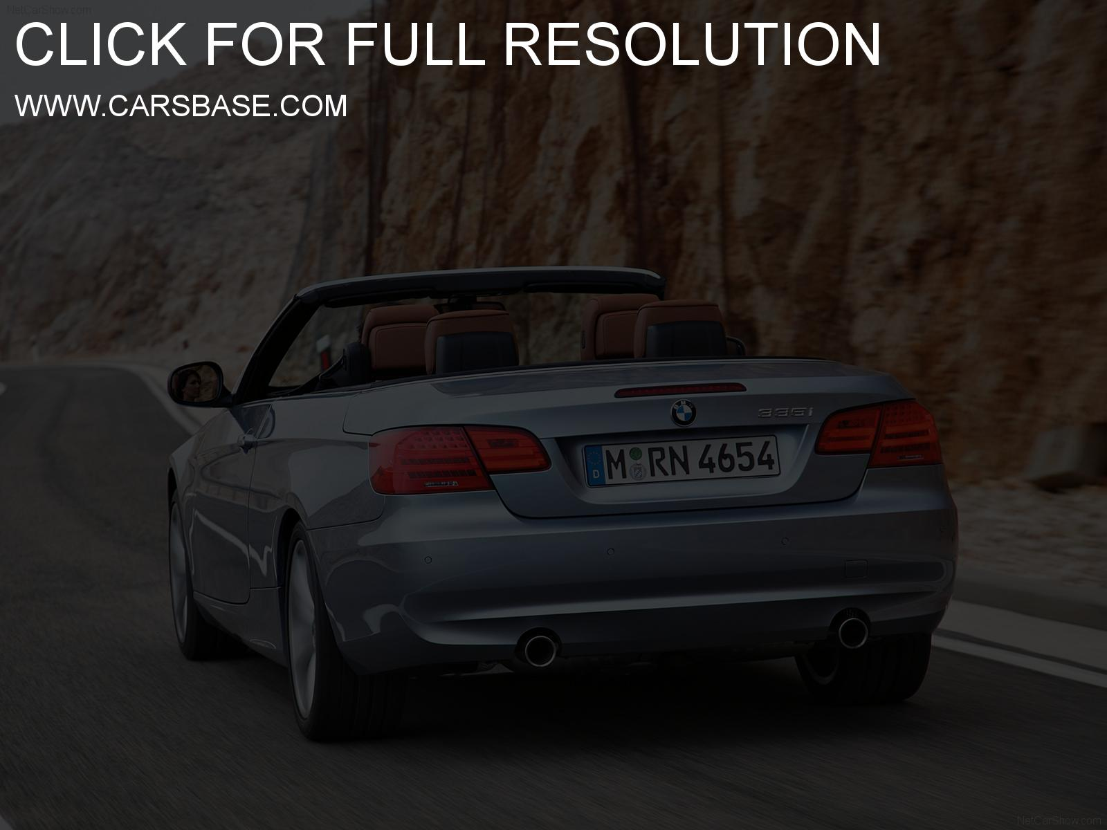 Pictures of bmw 3 series cabrio (e93) 2015