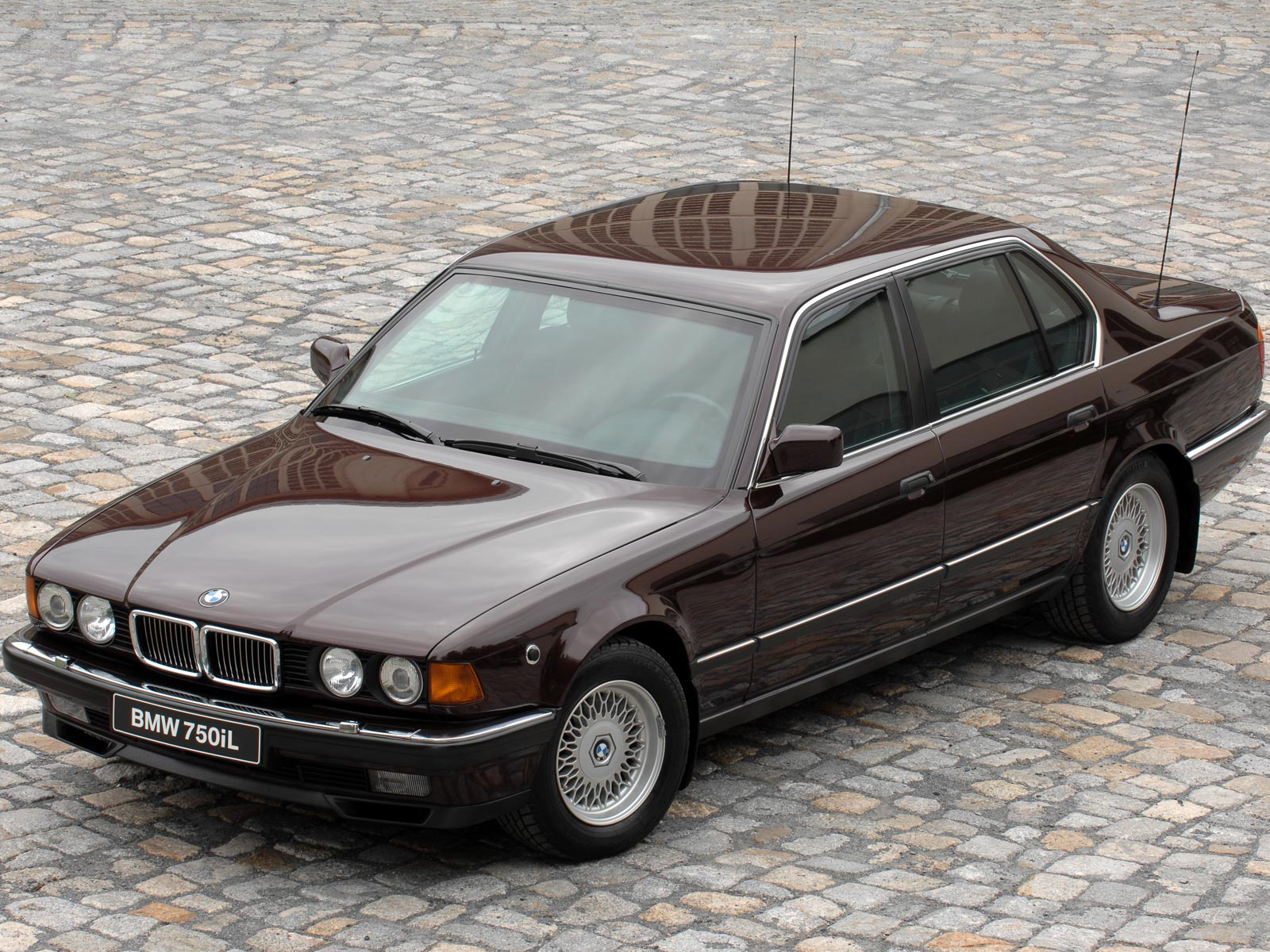 Pictures of bmw 7er (e32) 1990 #10