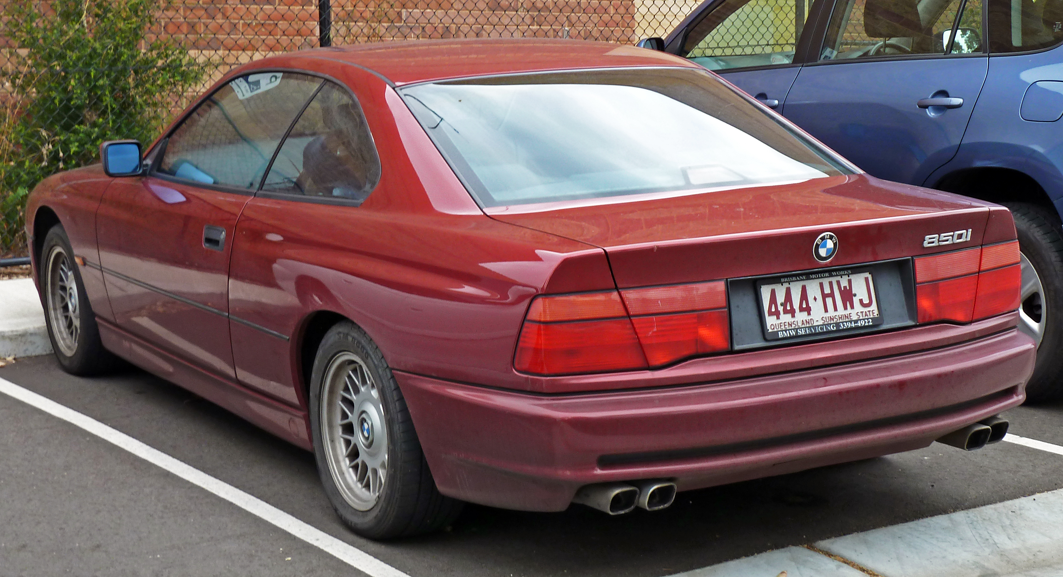Pictures of bmw 8er (e31) 1990 #15