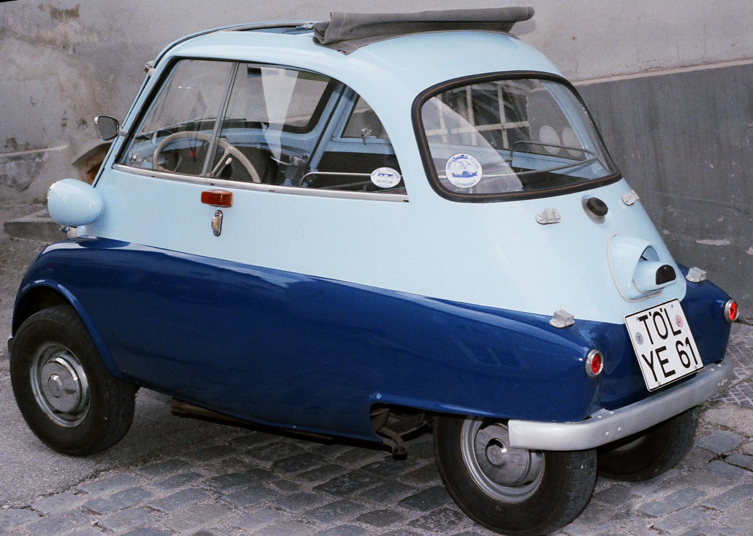 Pictures of bmw isetta #7