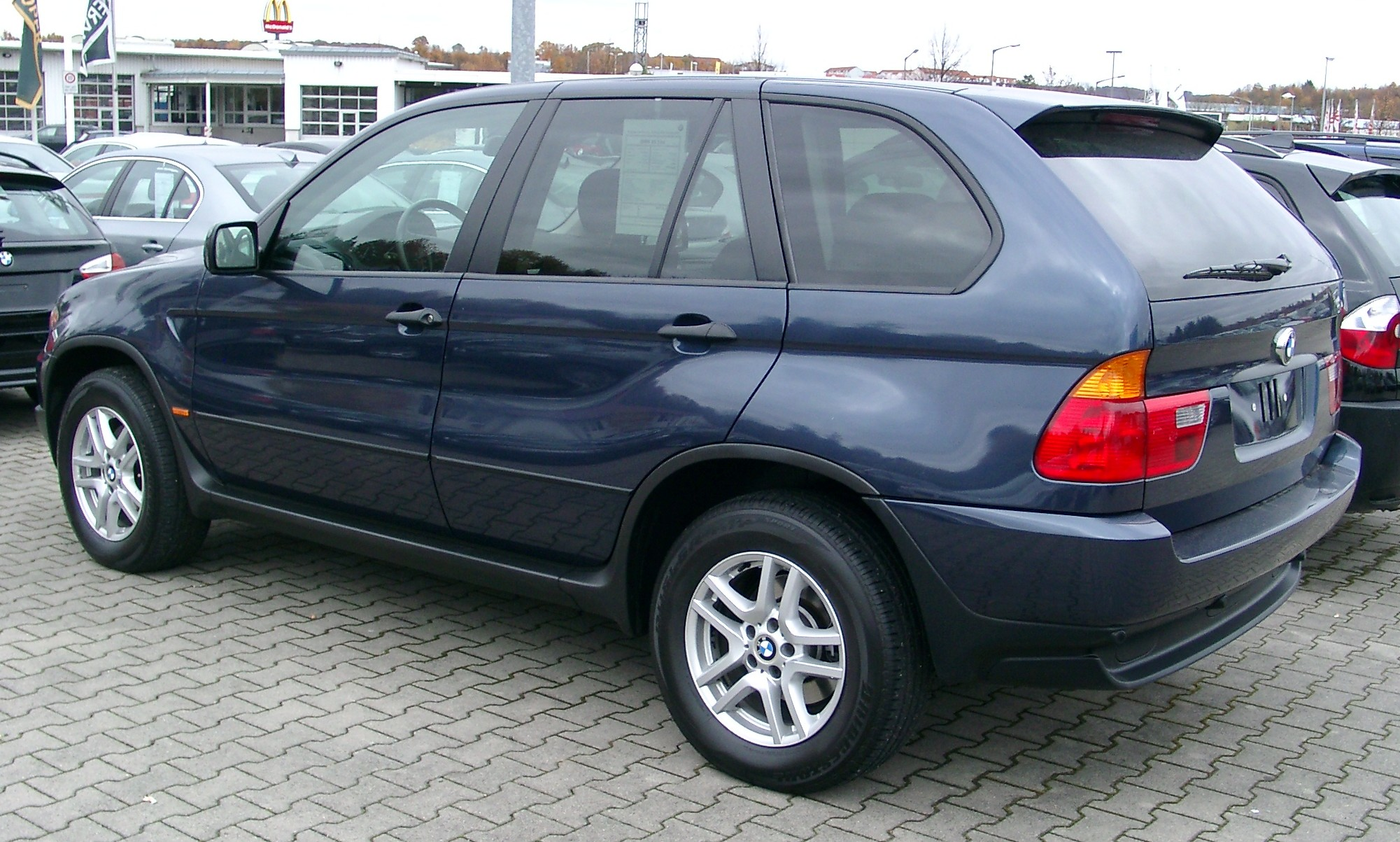 Pictures of bmw x5 (e53) 2001 #5