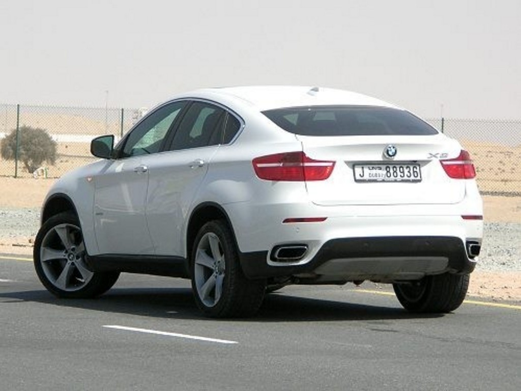 Pictures of bmw x6 2009