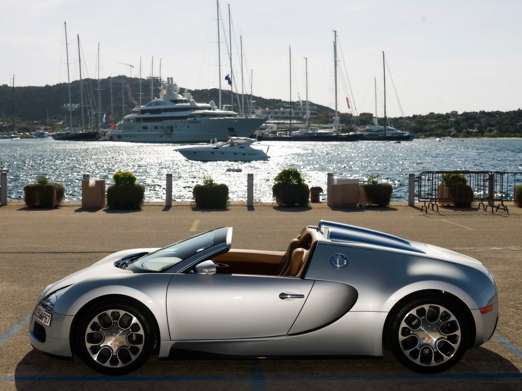 Pictures of bugatti veyron grand sport 2010