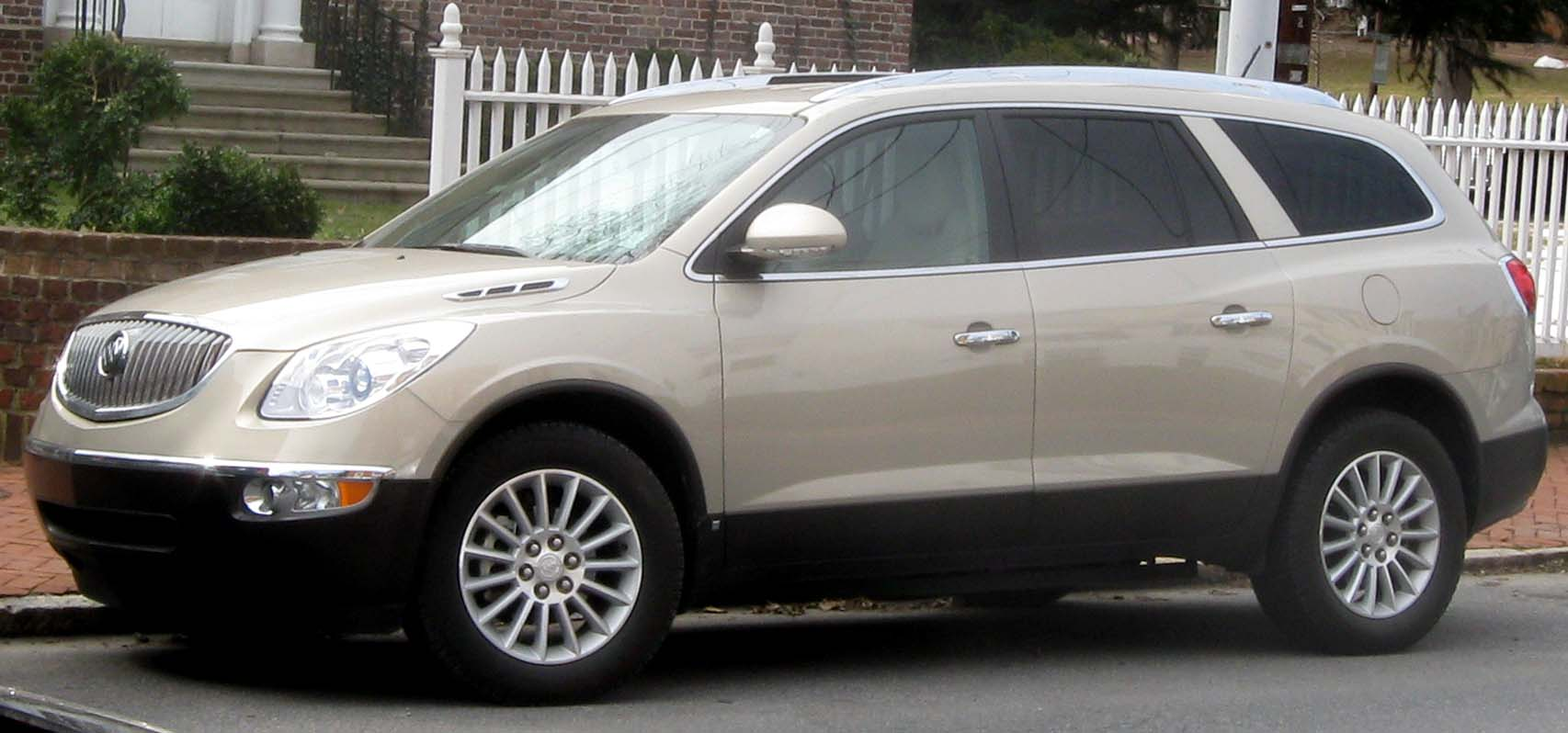 Pictures of buick enclave #13