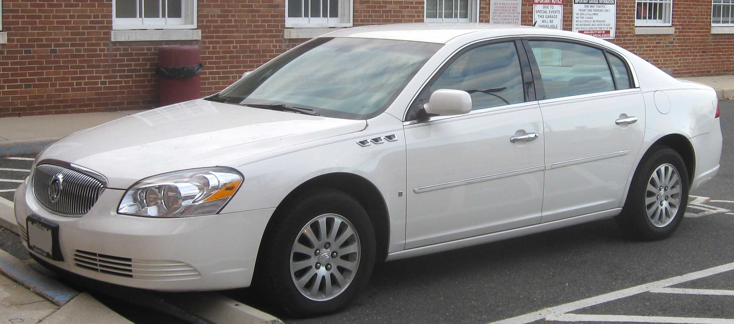 Pictures of buick lucerne