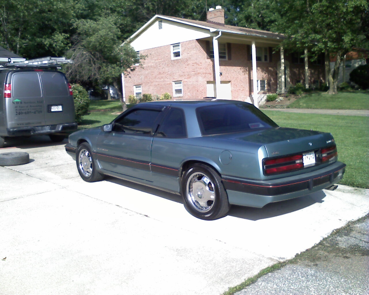 Pictures of buick regal coupe 1994