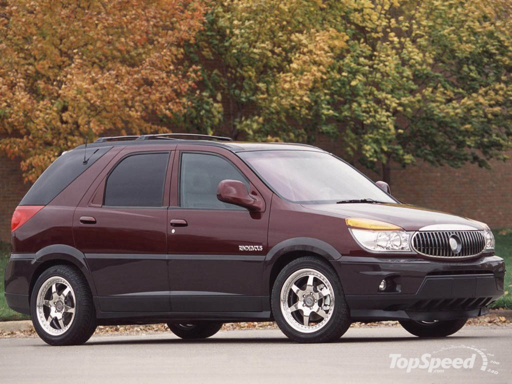Pictures of buick rendezvous