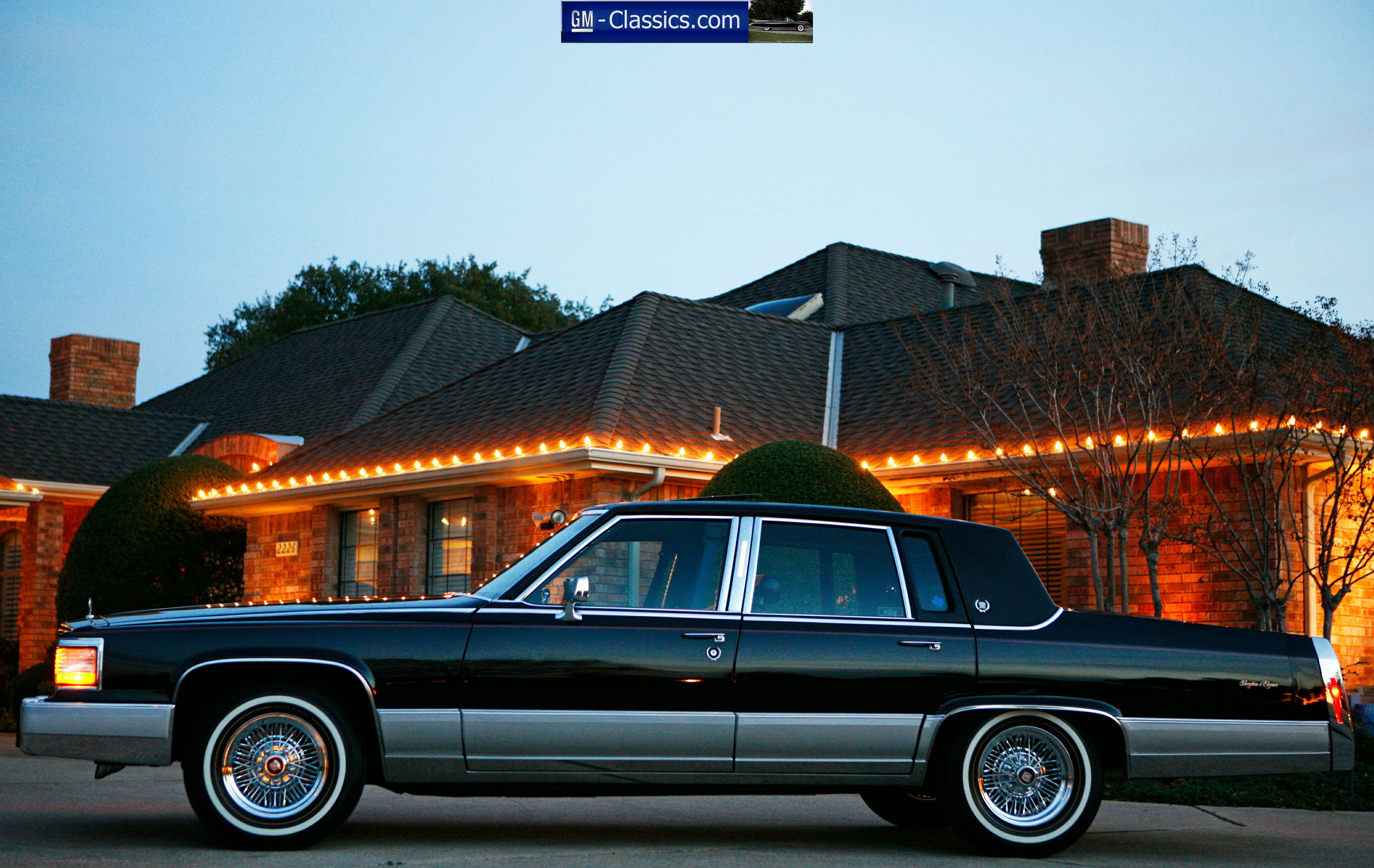 Pictures of cadillac brougham