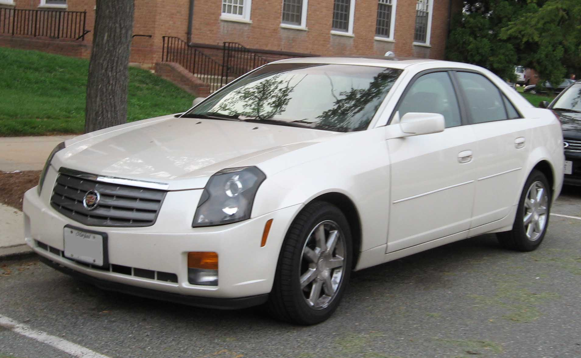 Pictures of cadillac cts