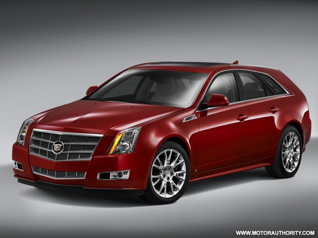 Pictures of cadillac cts sport wagon 2012