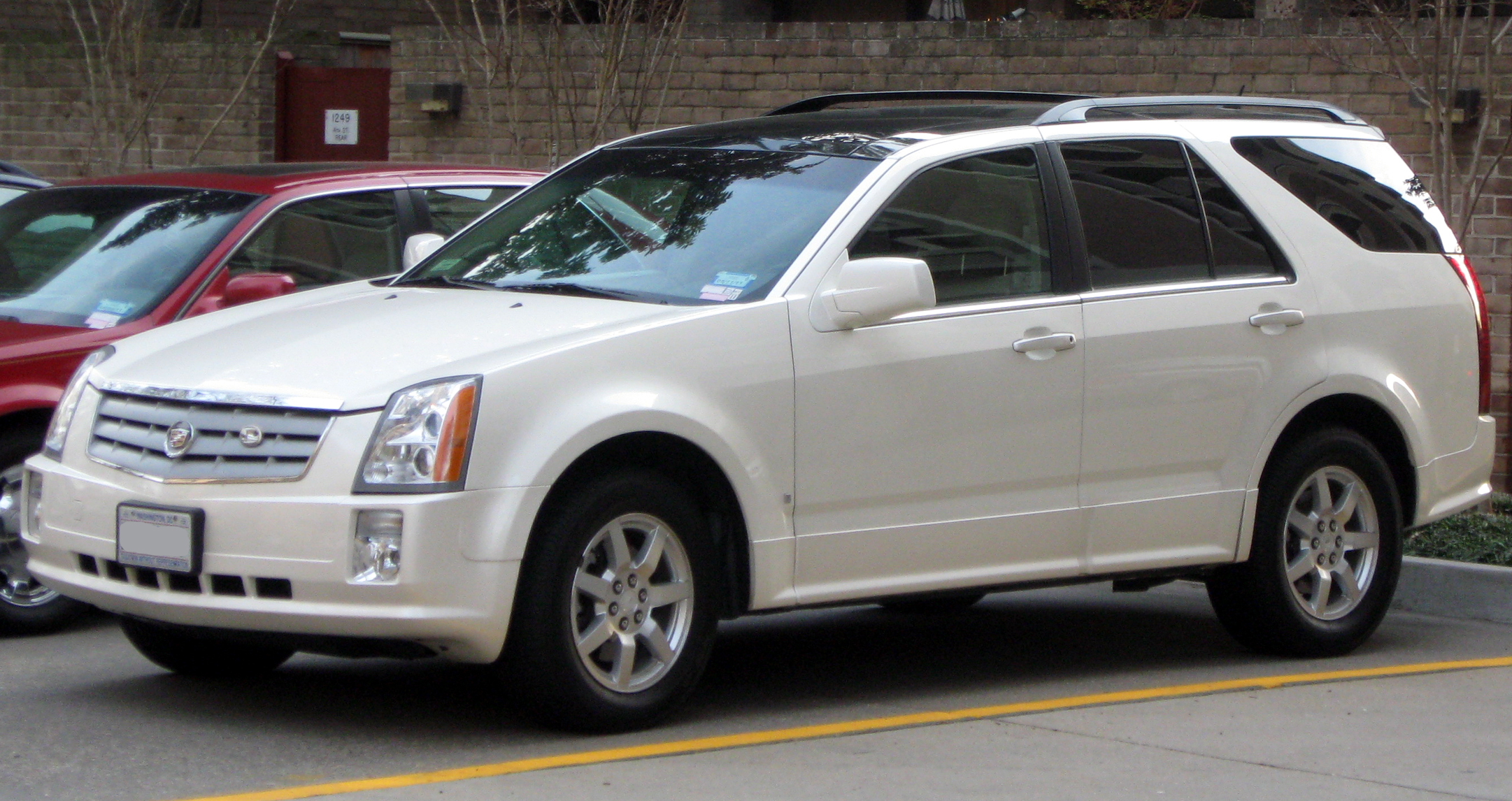 Pictures of cadillac srx