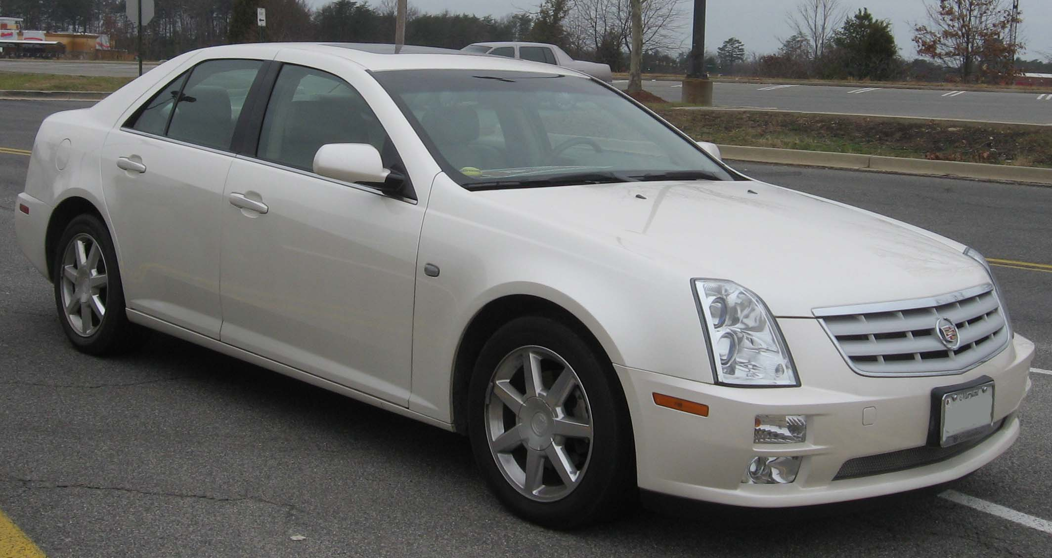 Pictures of cadillac sts #2