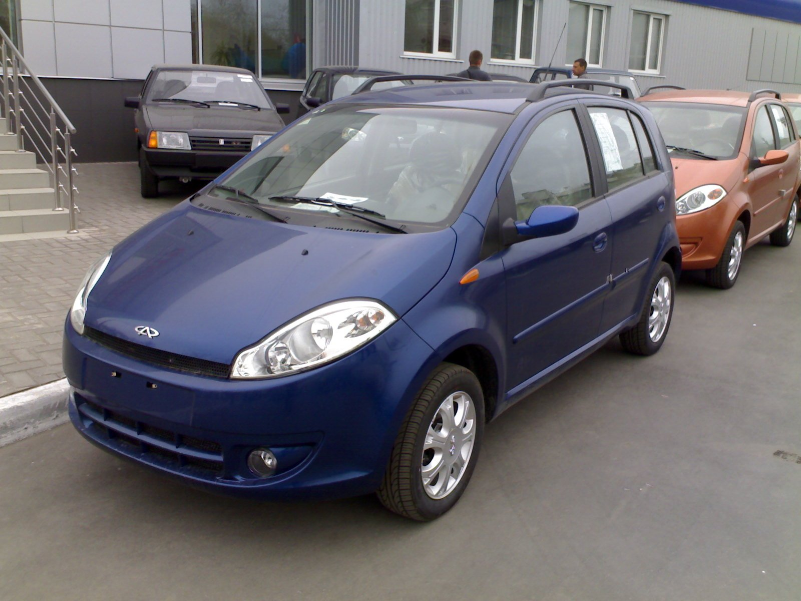 Pictures of chery a1 (kimo)