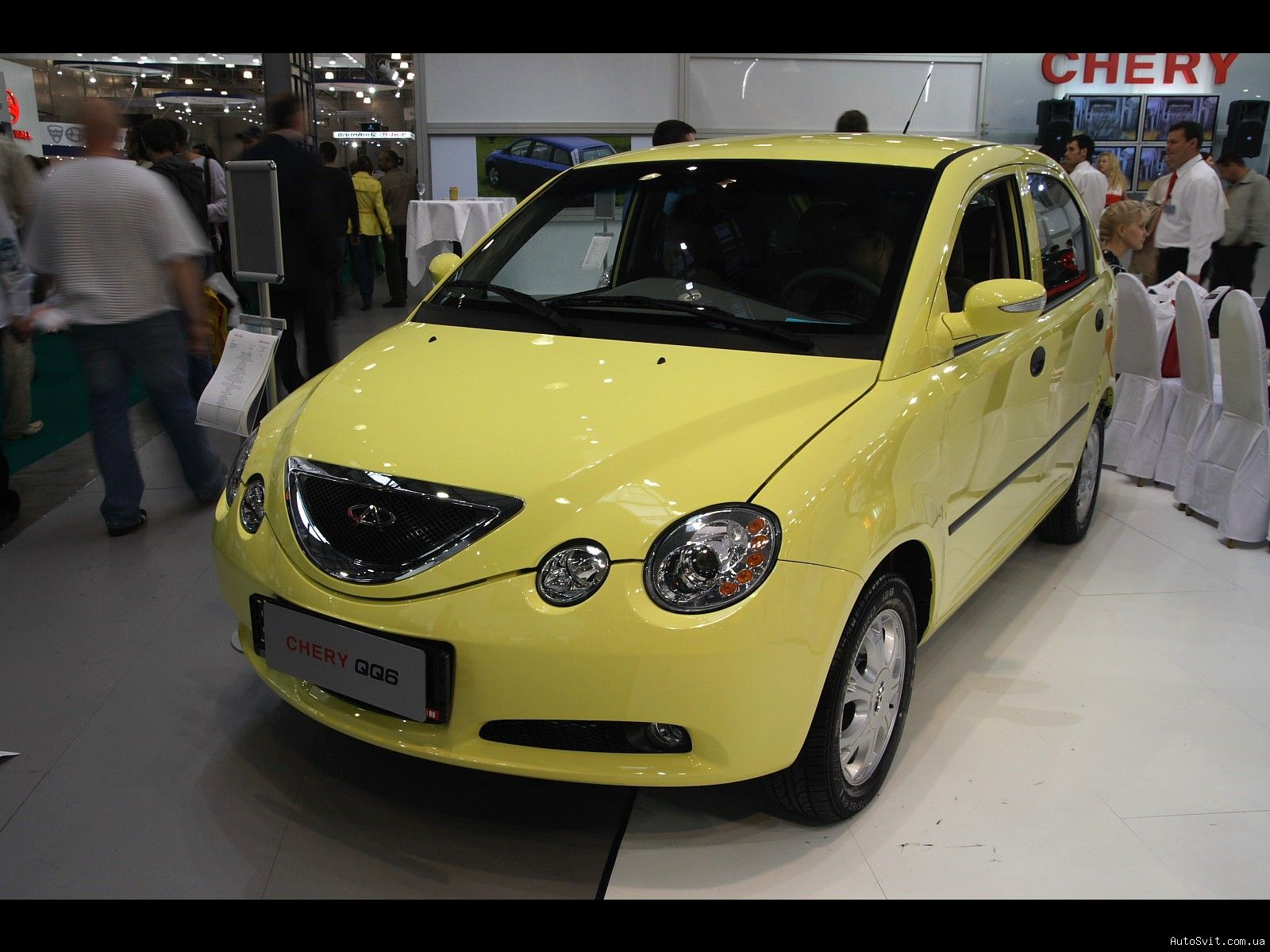 Pictures of chery qq6