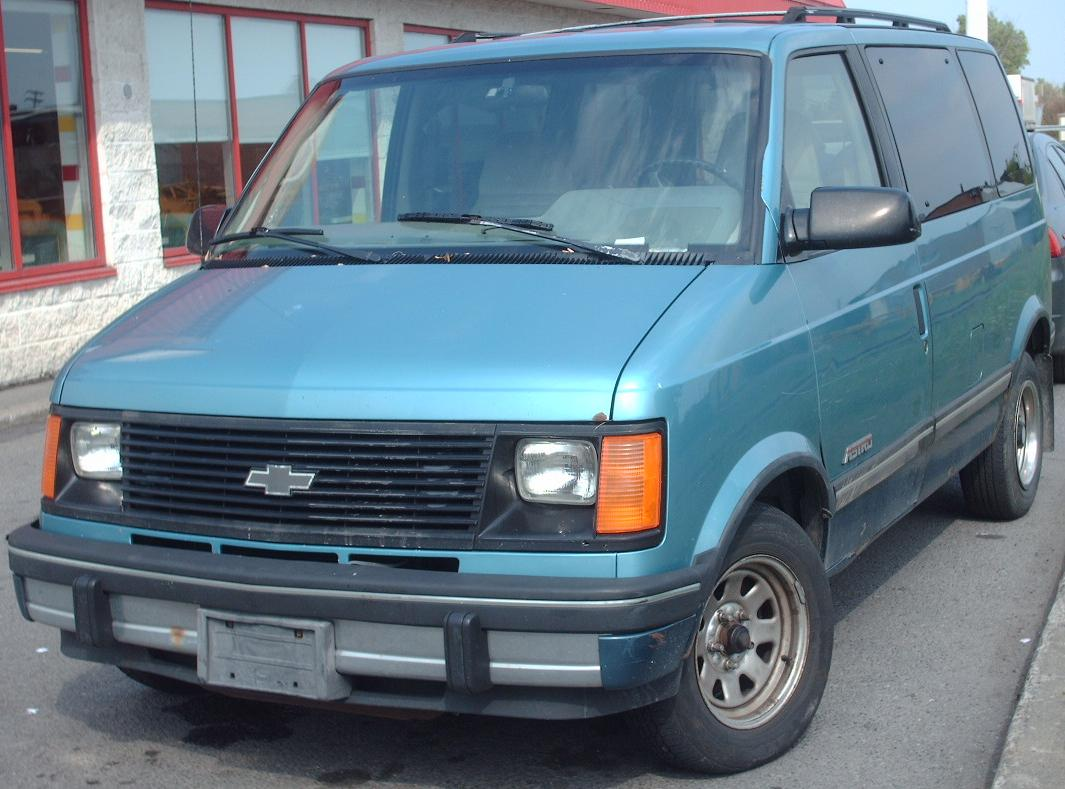 Pictures of chevrolet astro #7