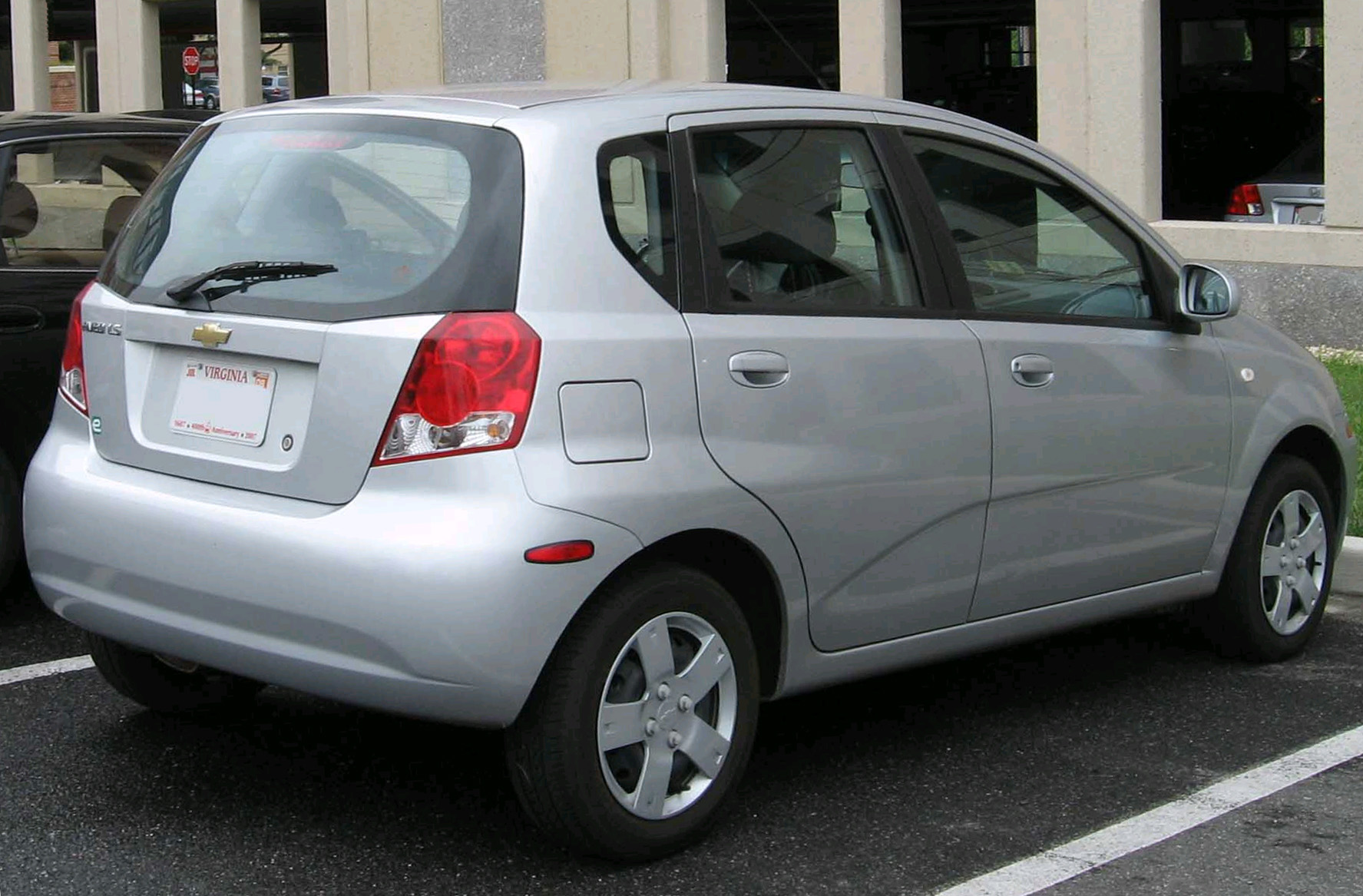 Pictures of chevrolet aveo 2005