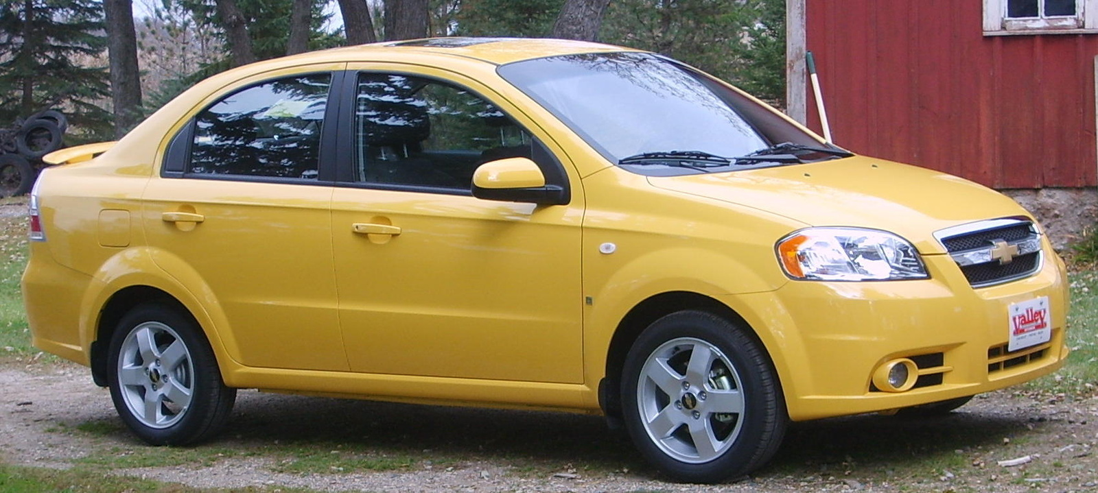 All Chevy chevy aveo 2007 : 2007 Chevrolet Aveo – pictures, information and specs - Auto ...