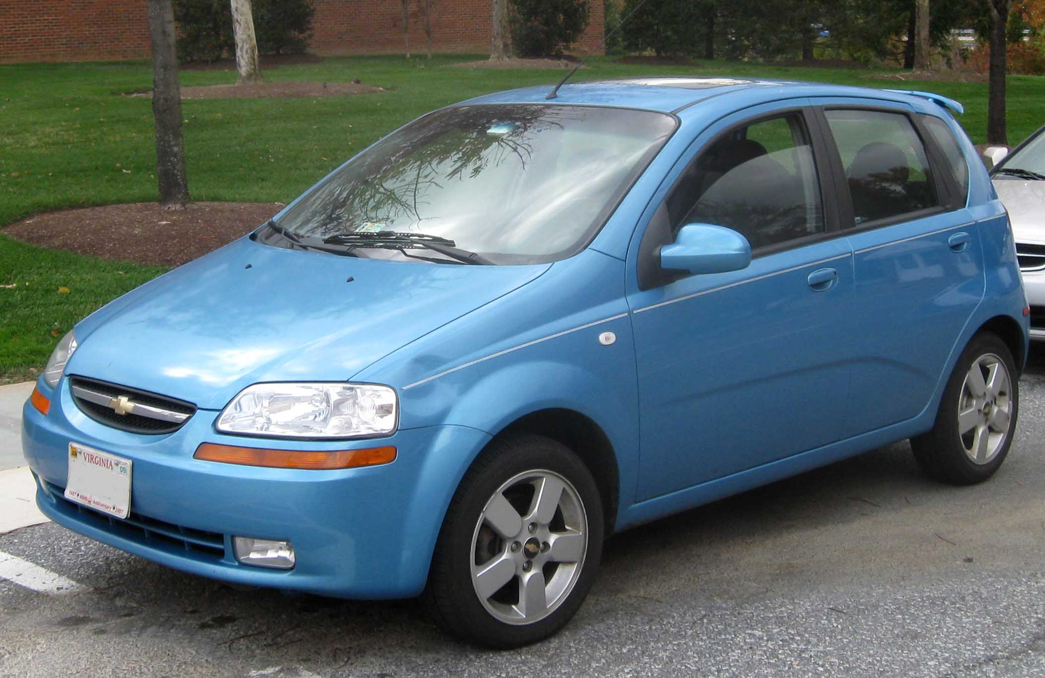 Pictures of chevrolet aveo (ii) hatchback 2011 #13