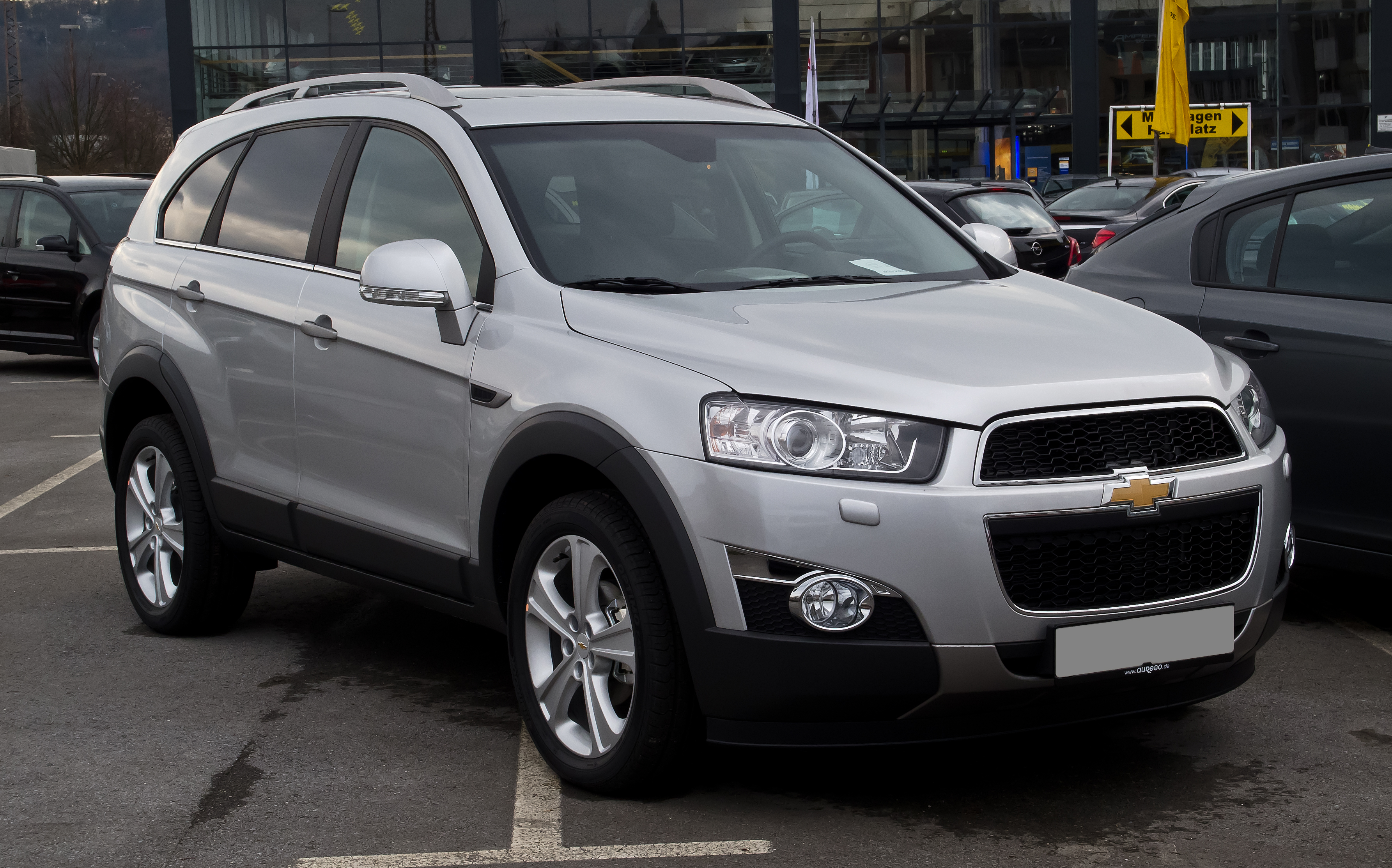 Pictures of chevrolet captiva #2