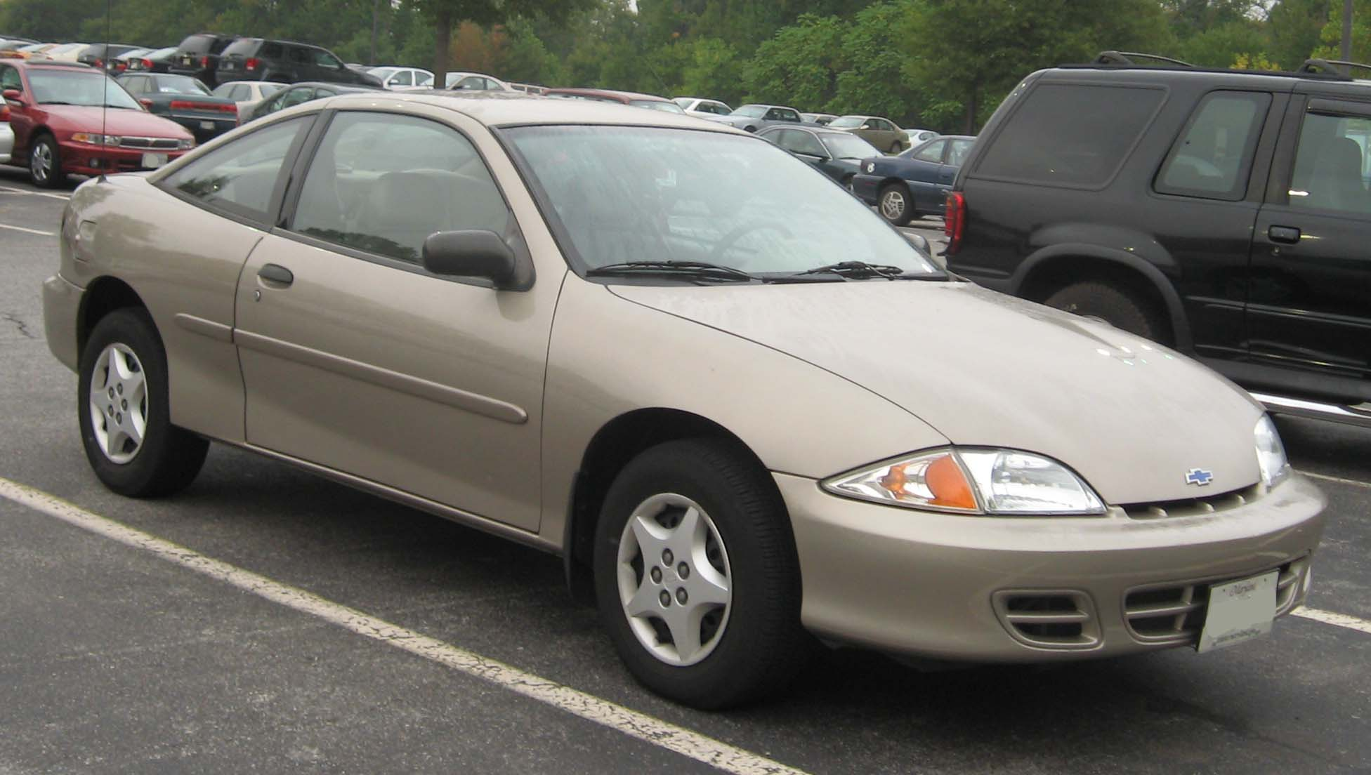 Pictures of chevrolet cavalier coupe (j) 2000 #1