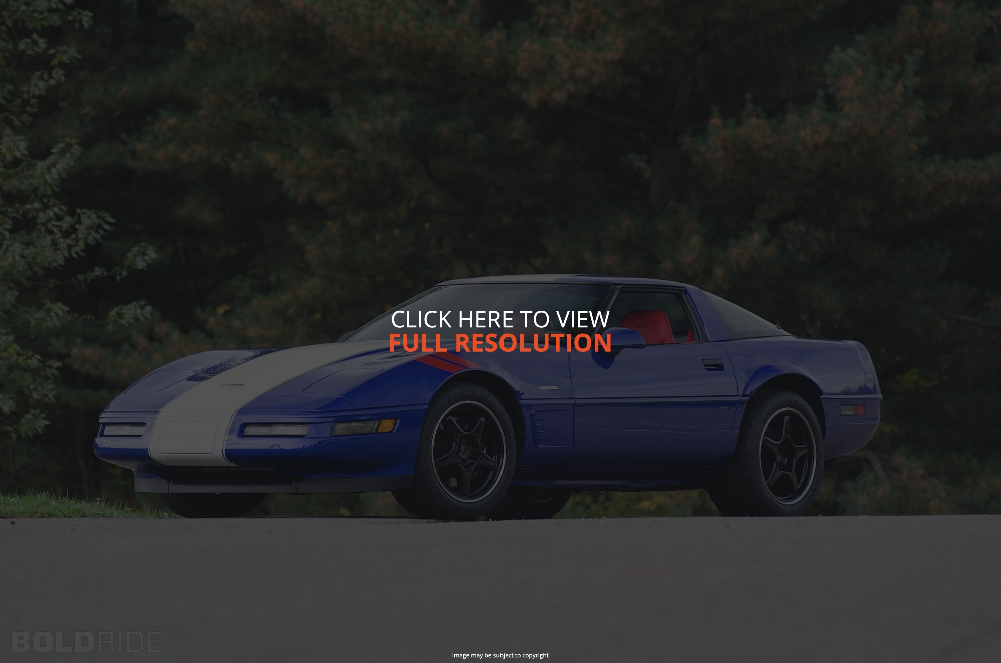 1996 Chevrolet Corvette c4 coupe – pictures, information and
