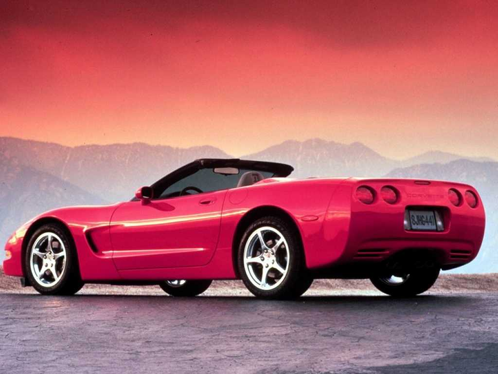 Pictures of chevrolet corvette c5 coupe 2003