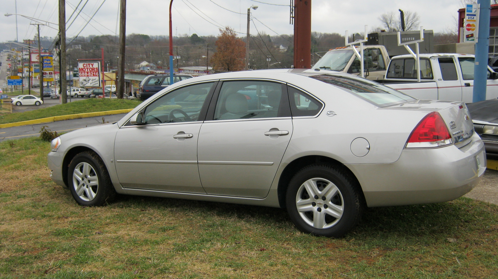 Pictures of chevrolet impala 2008