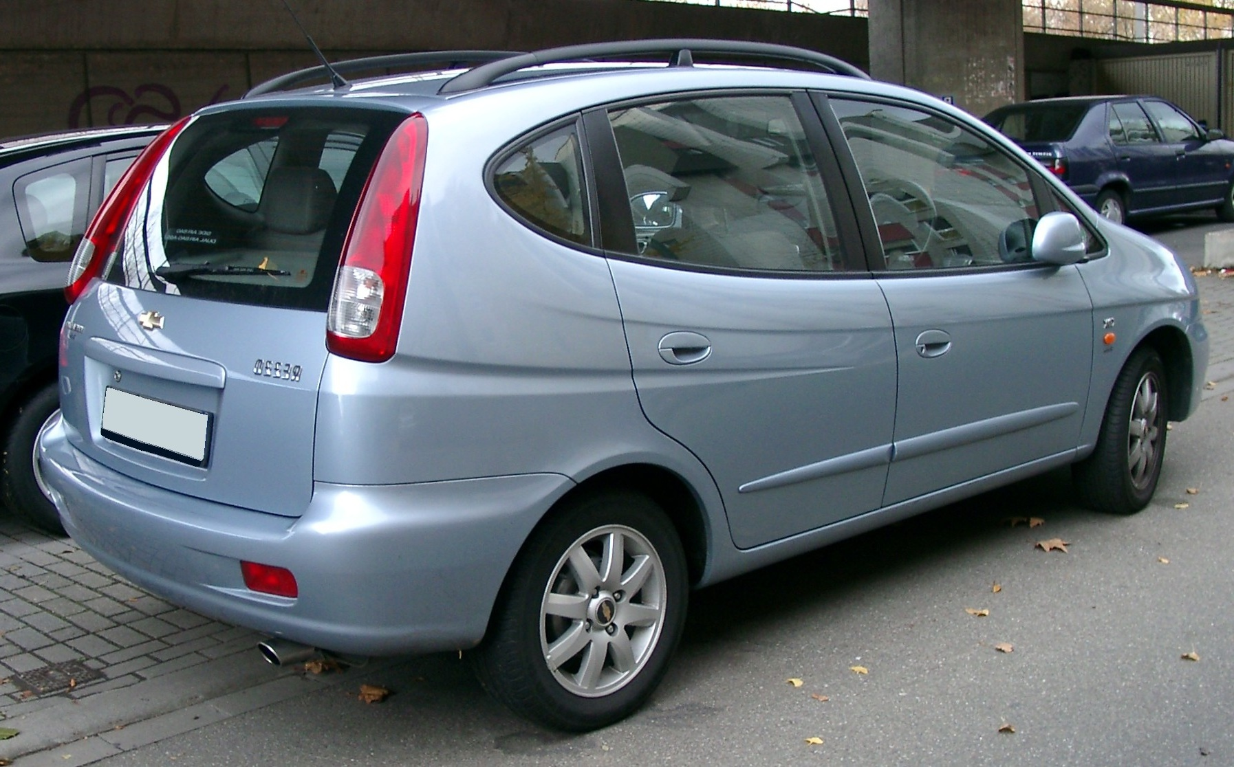 2007 Chevrolet Rezzo Pictures Information And Specs
