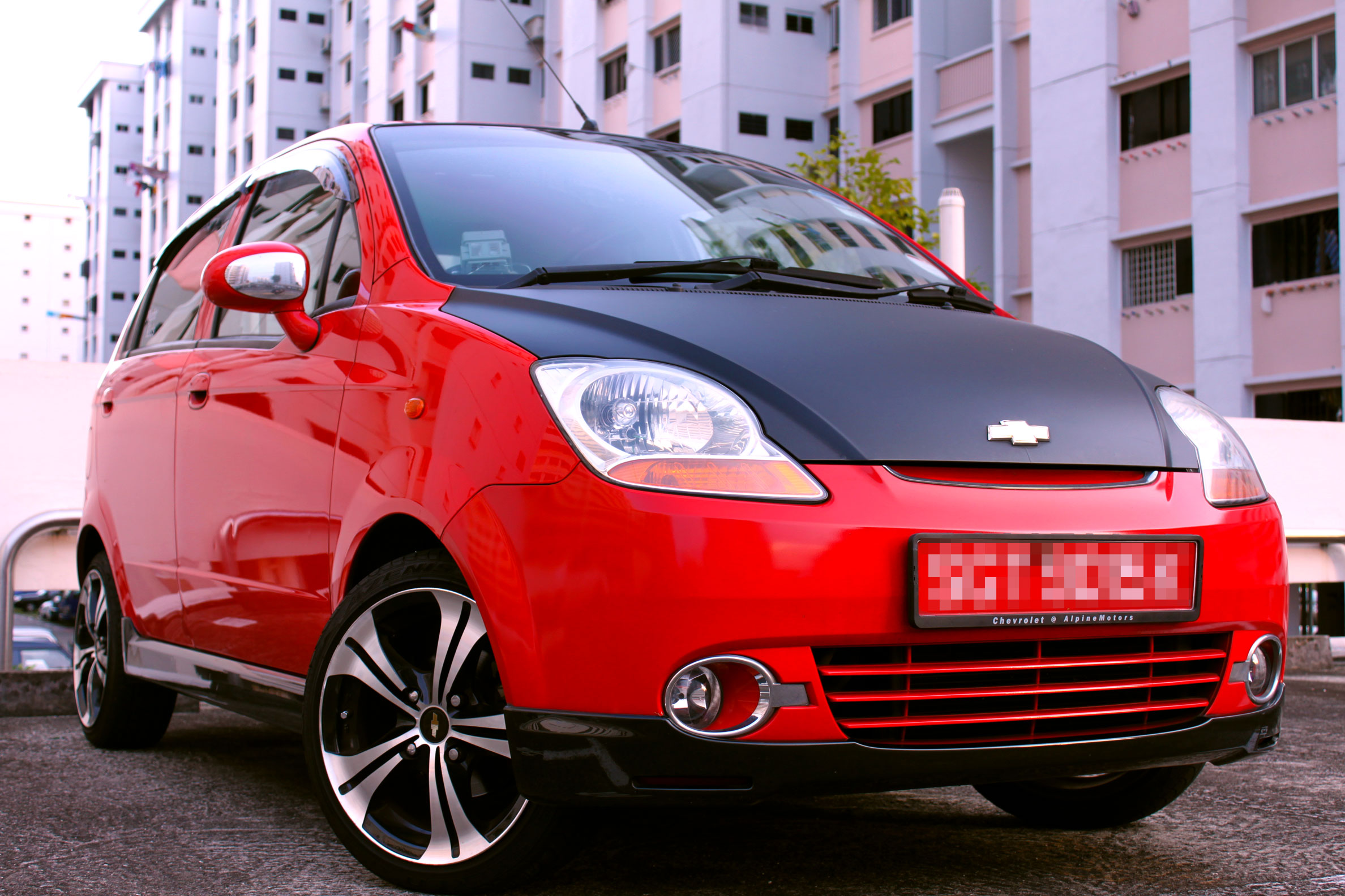 2007 Chevrolet Spark Pictures Information And Specs