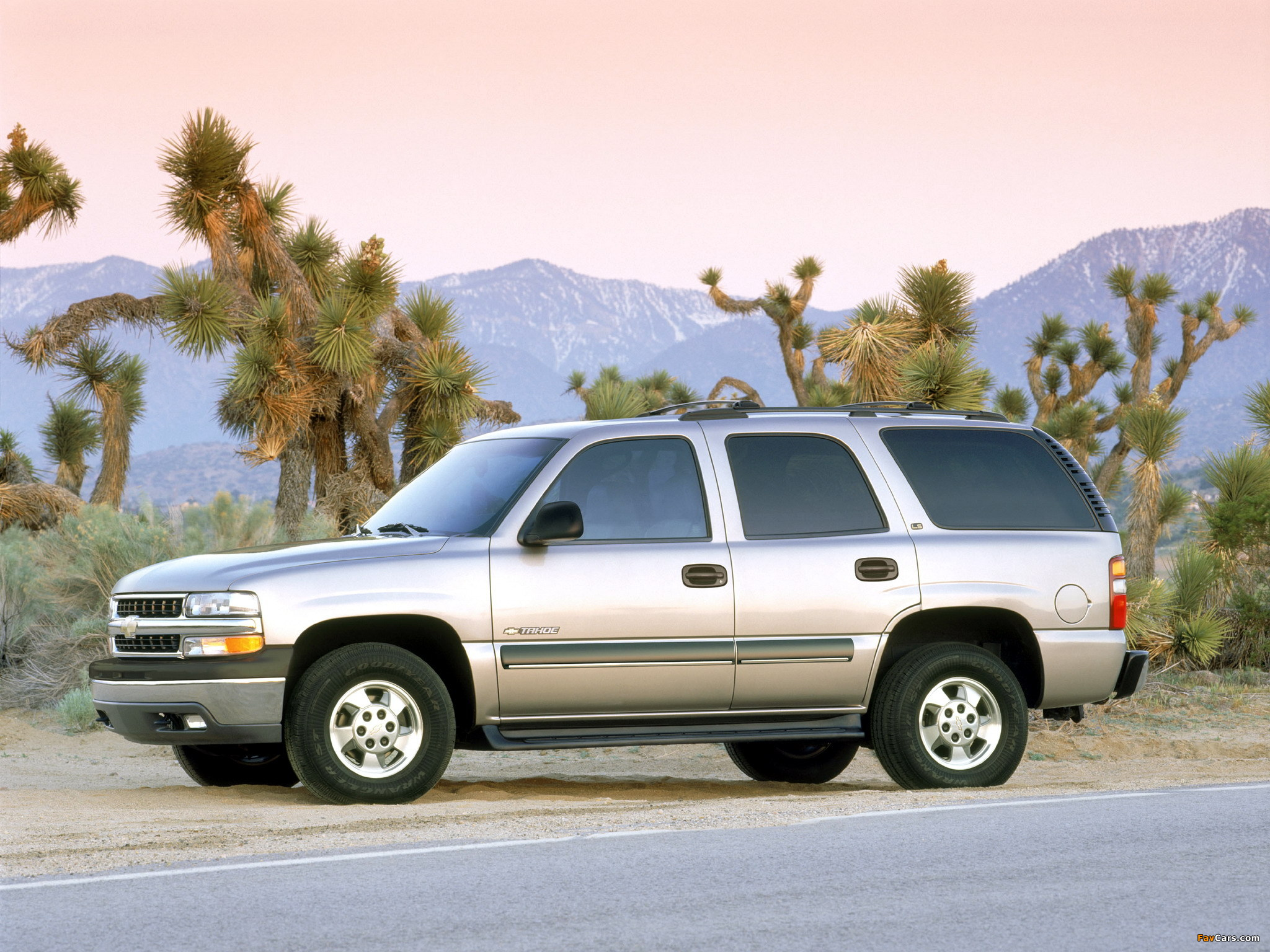 Pictures of chevrolet tahoe (gmt840) 2000 #4
