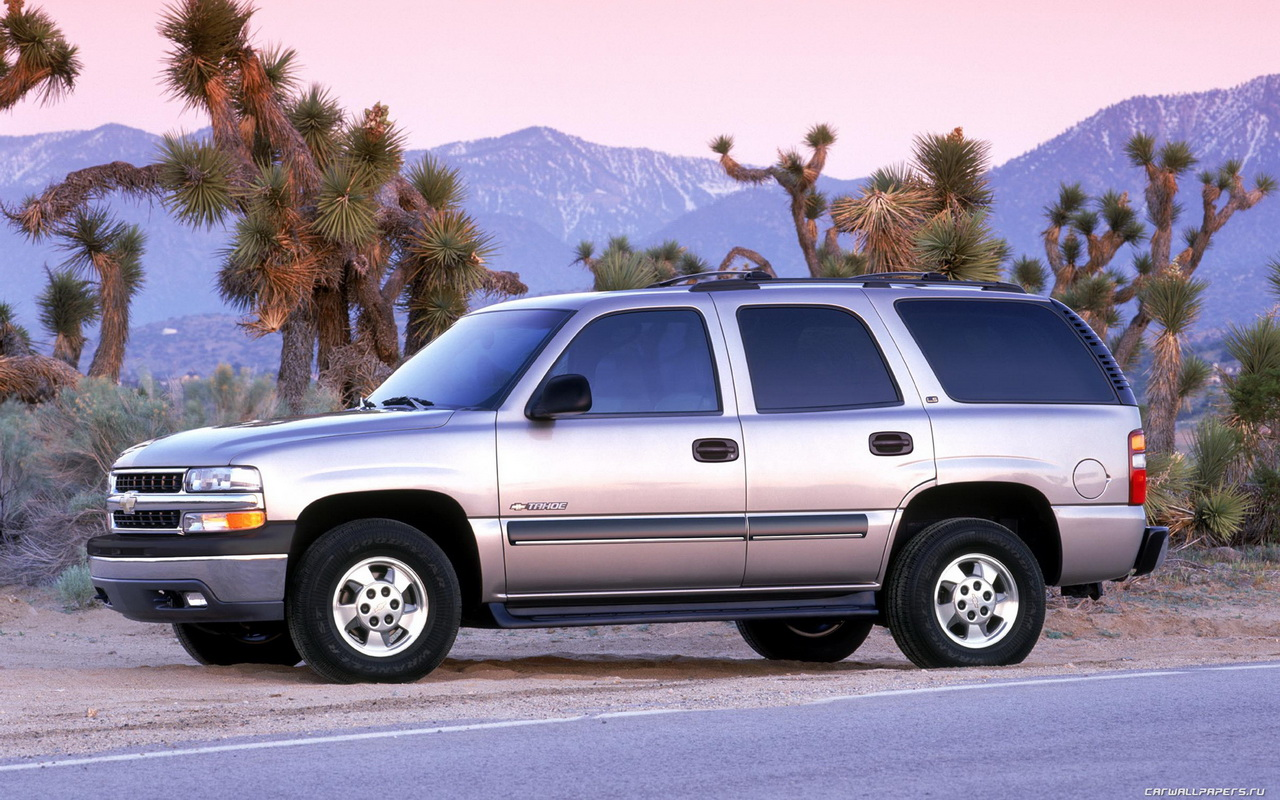 Pictures of chevrolet tahoe (gmt840) 2002 #6