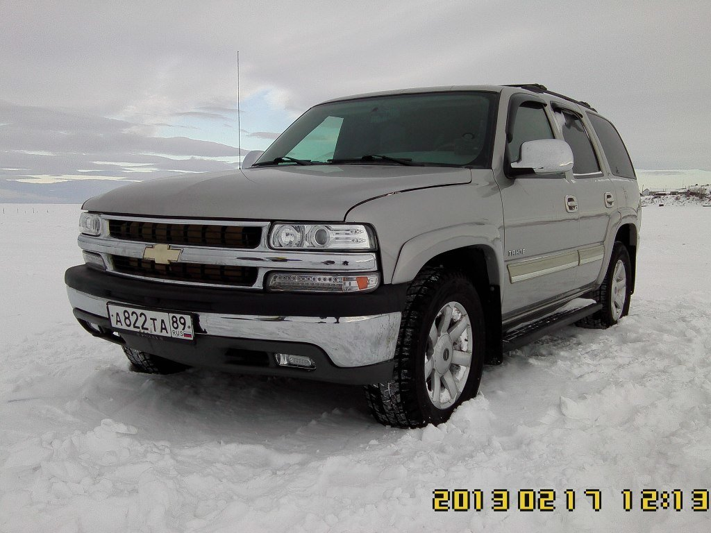 Pictures of chevrolet tahoe (gmt840) 2002 #14