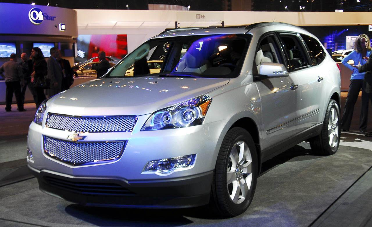 Pictures of chevrolet traverse
