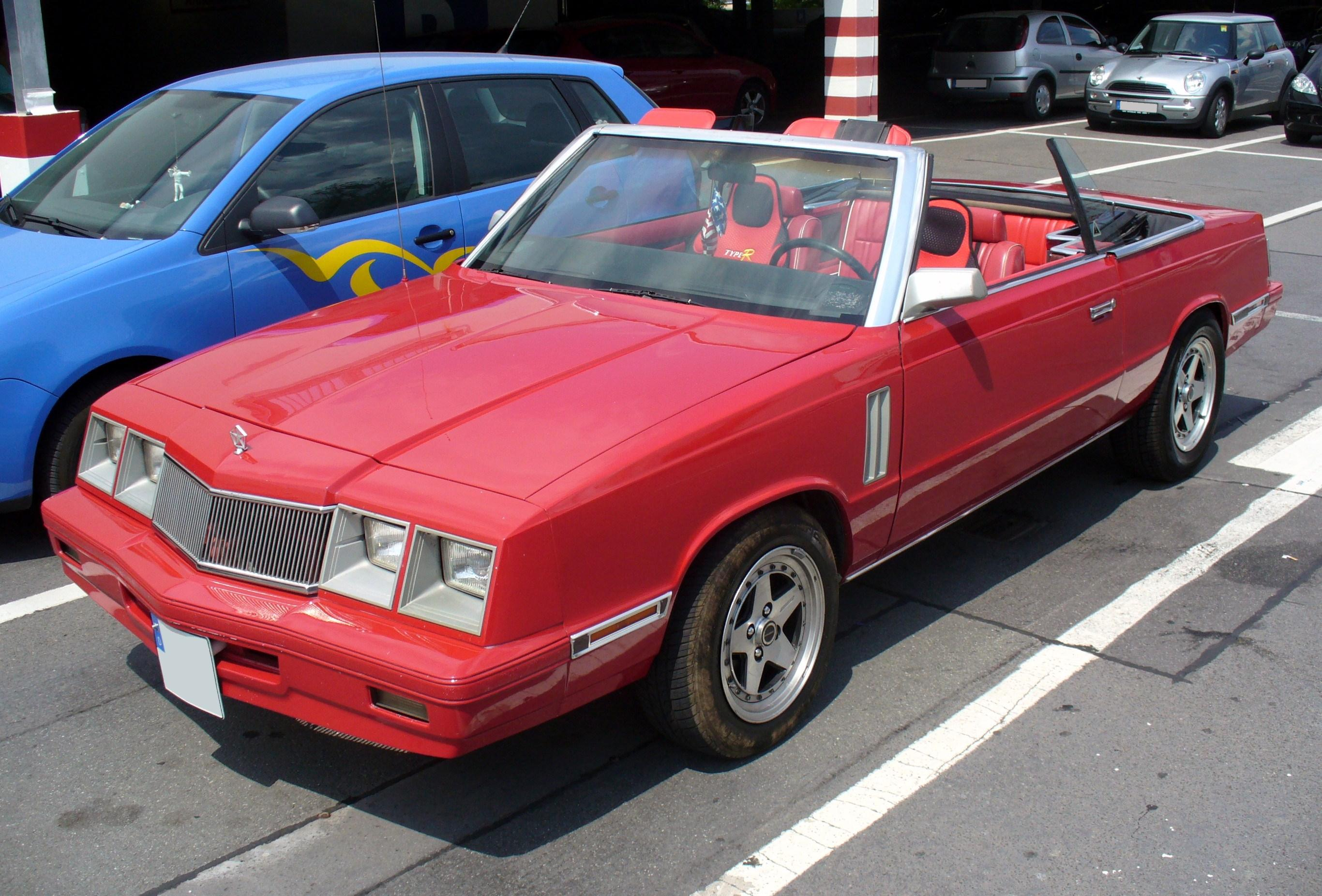 Pictures of chrysler le baron
