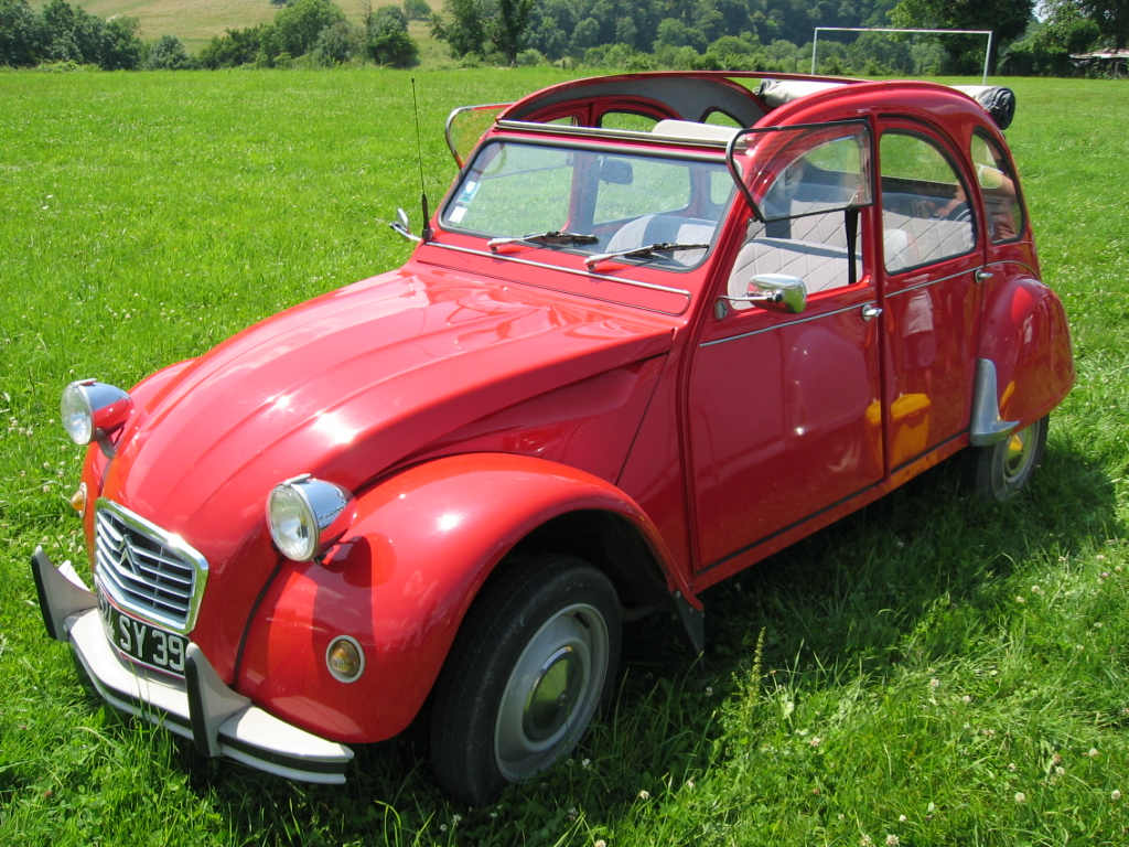 Pictures of citroen 2 cv #3