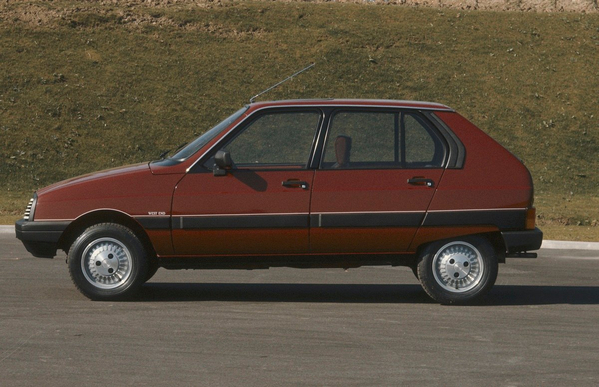 Pictures of citroen visa