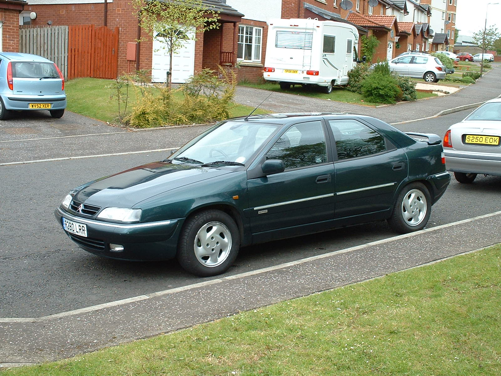 Pictures of citroen xantia