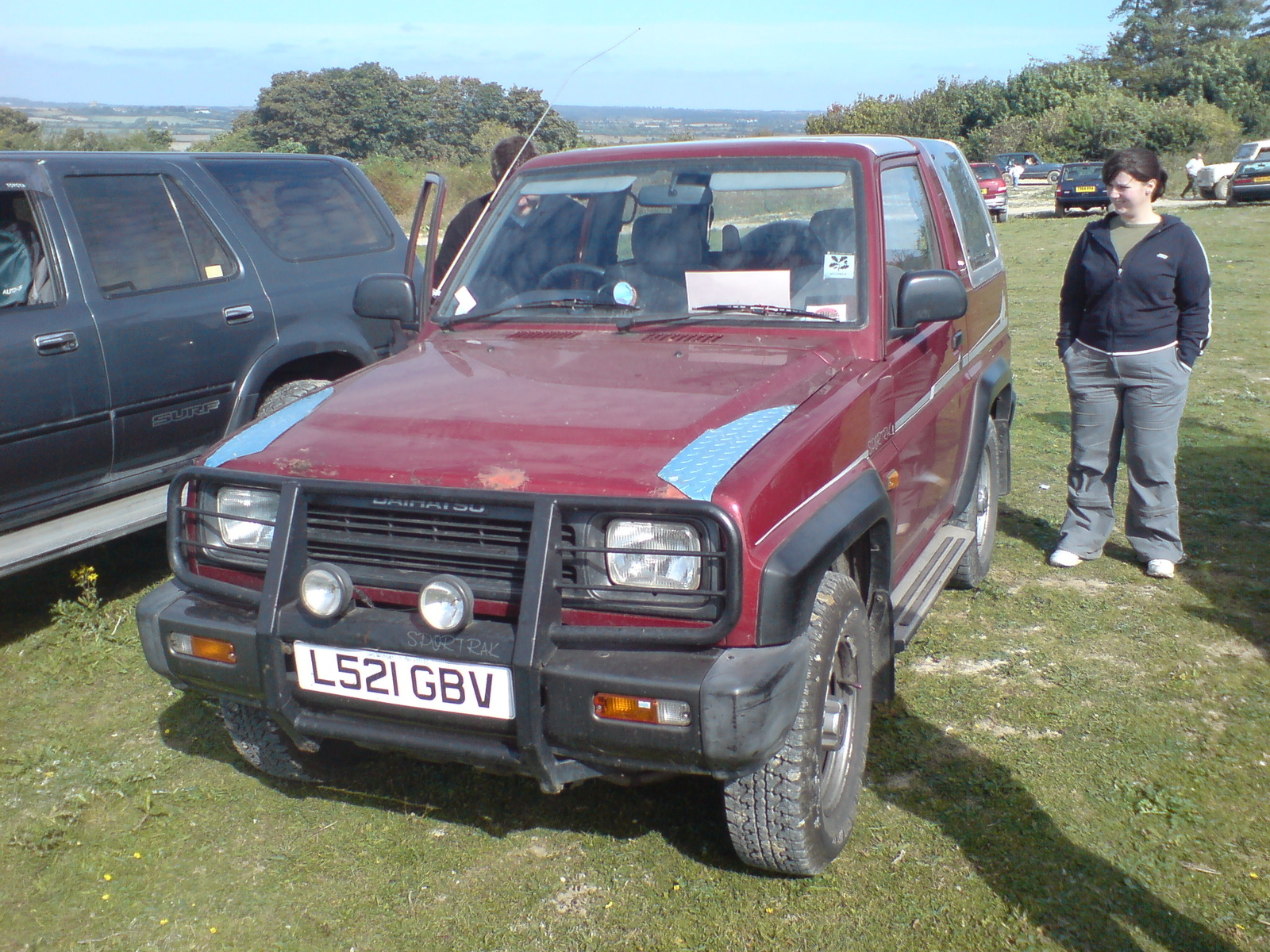 Pictures of daihatsu applause i (a101,a111) 1990 #4