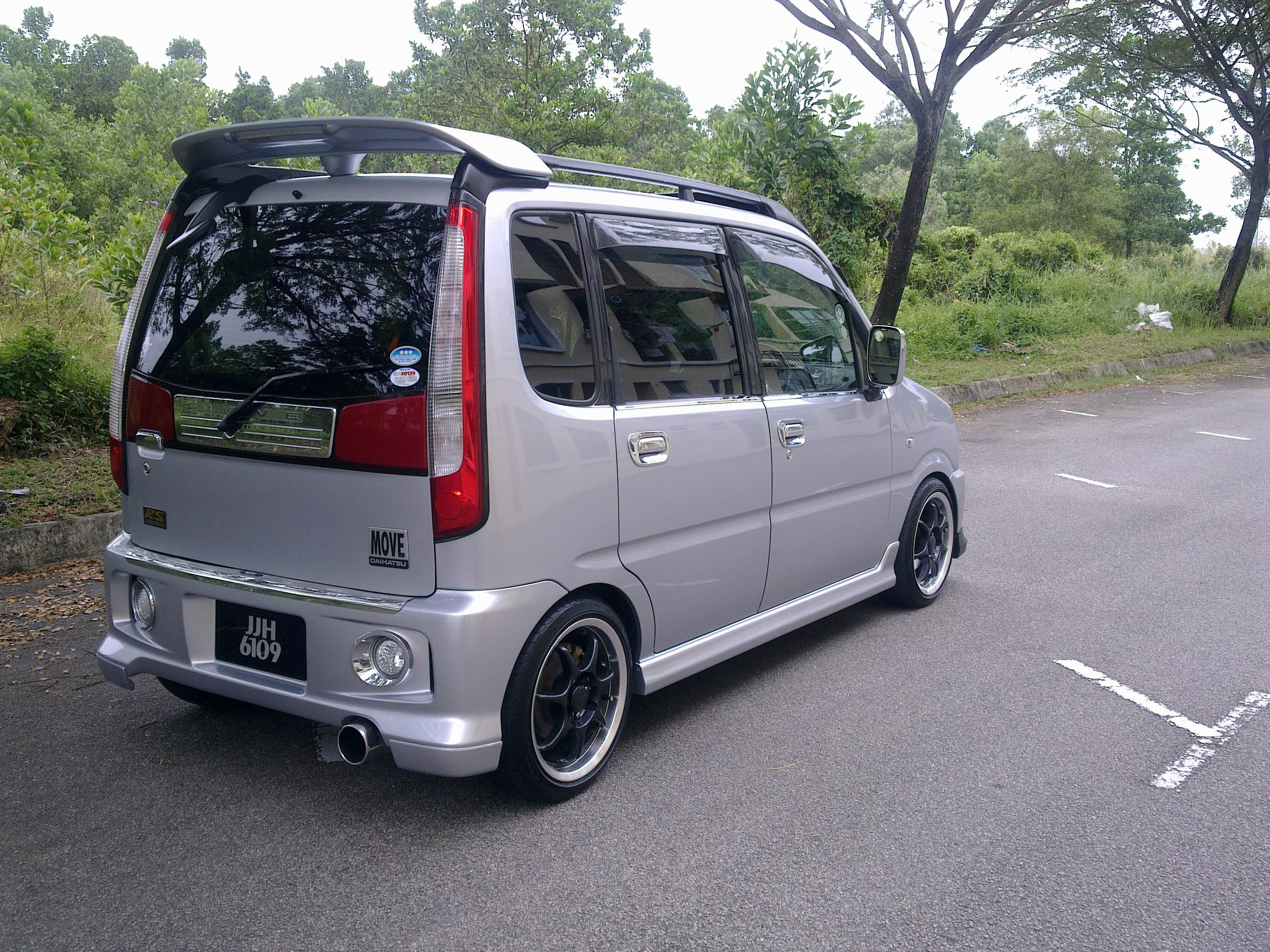 Pictures of daihatsu move #11