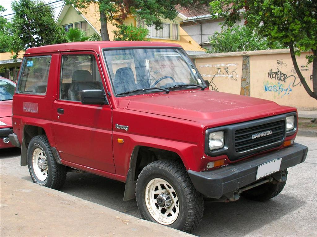 Pictures of daihatsu rocky