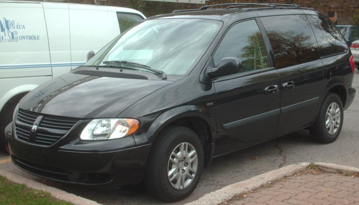 Pictures of dodge caravan