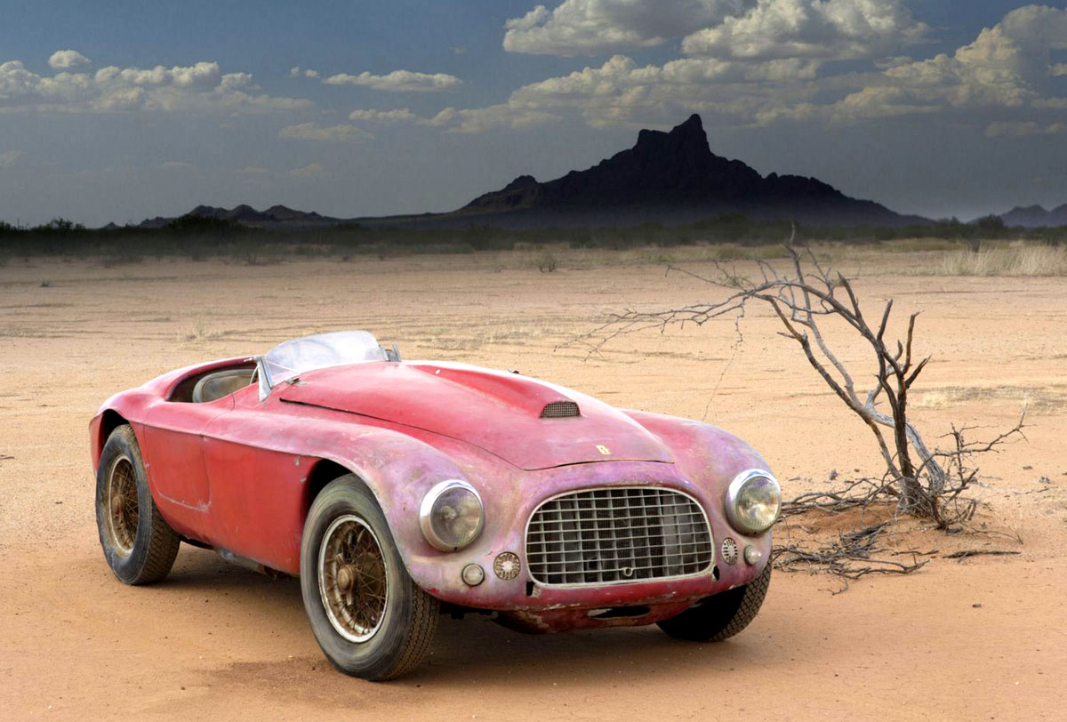 Pictures of ferrari barchetta