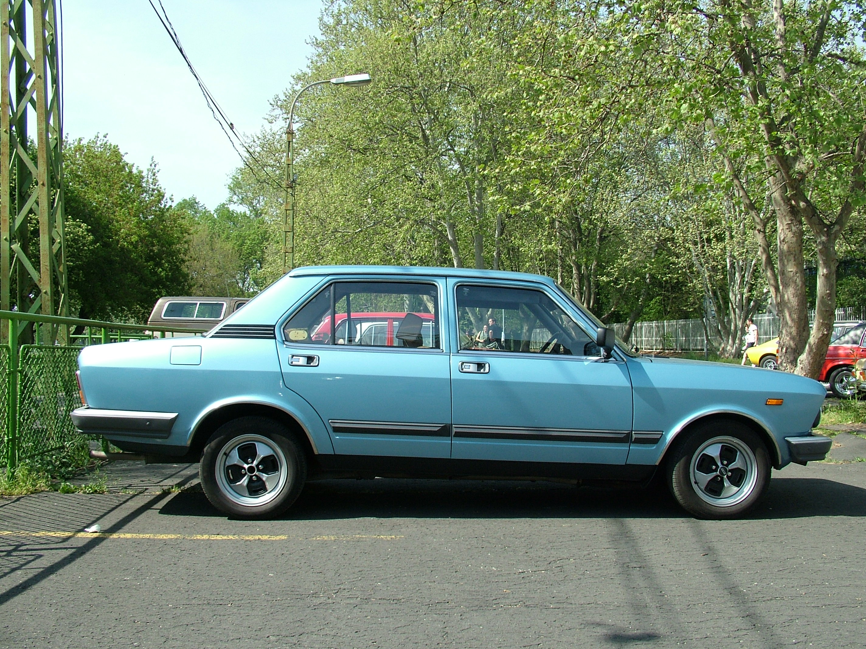Pictures of fiat 132