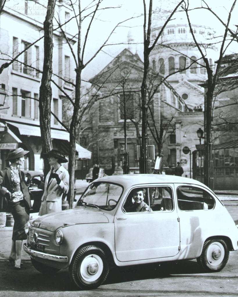 Pictures of fiat 600