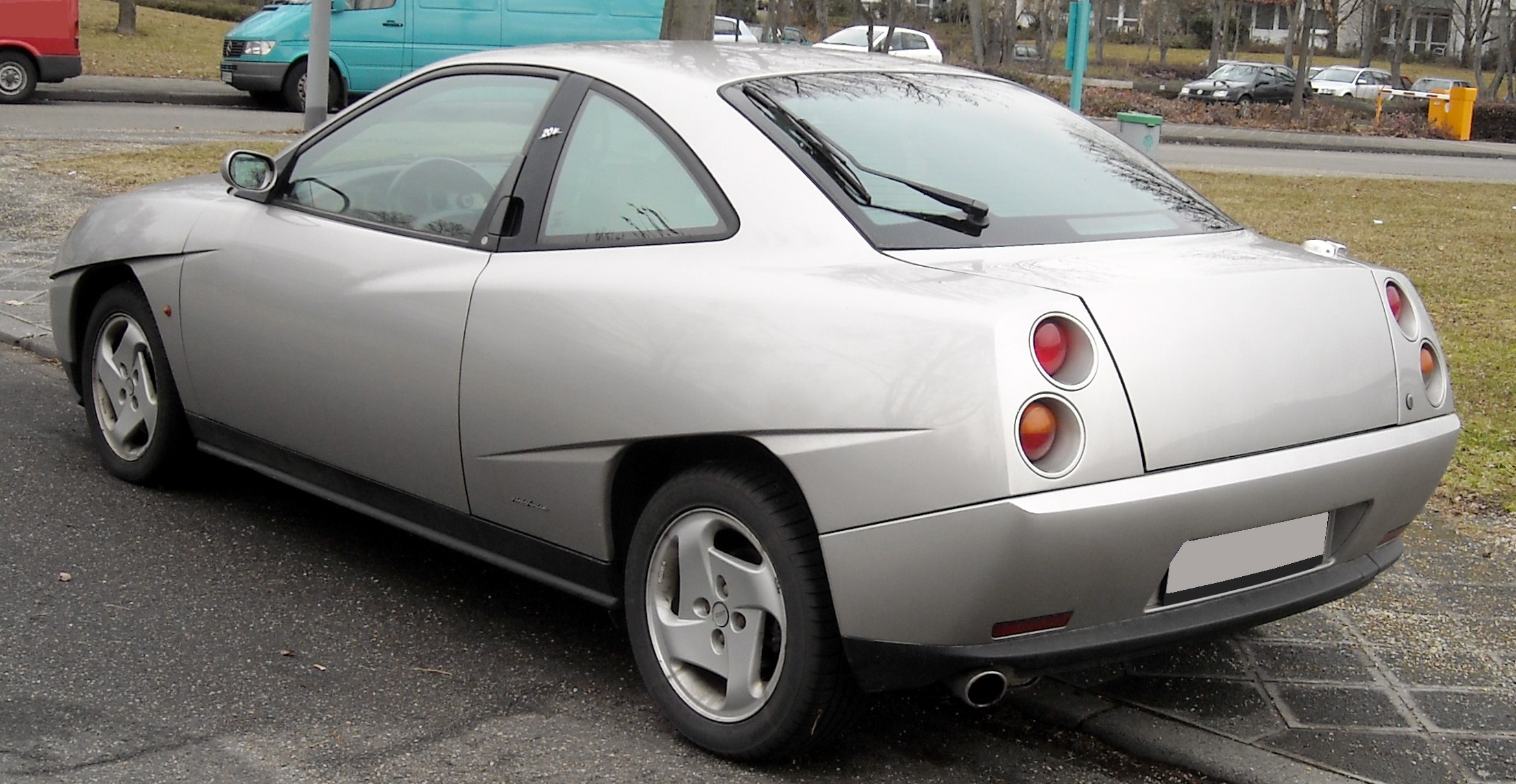 Pictures of fiat coupe #9