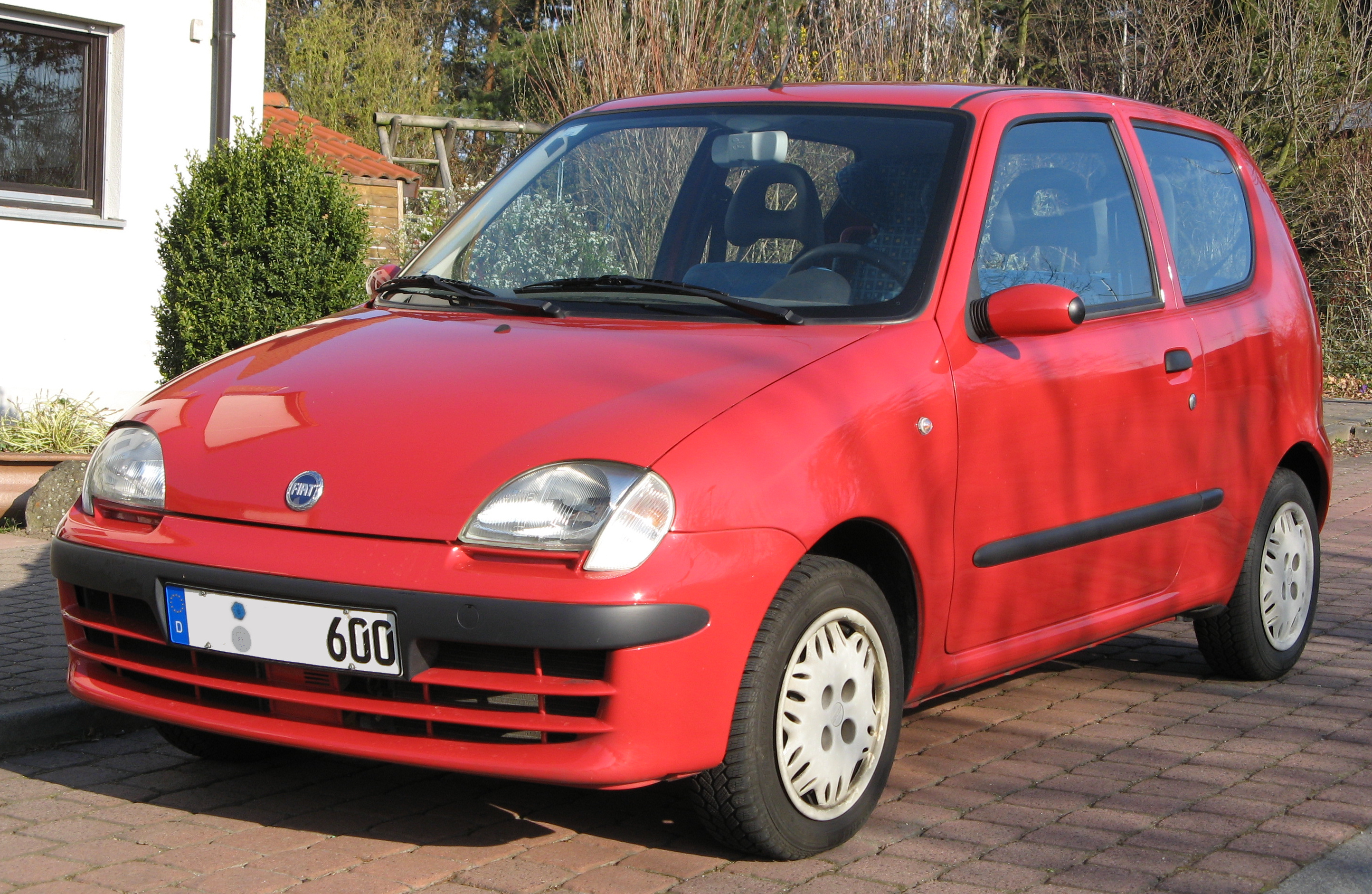 Pictures of fiat seicento #8