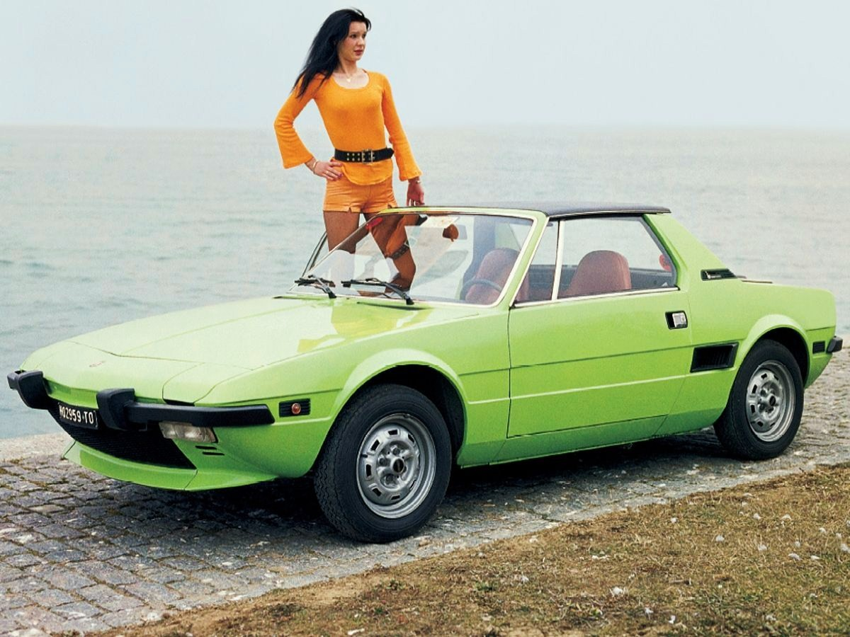 Pictures of fiat x 1/9 #6