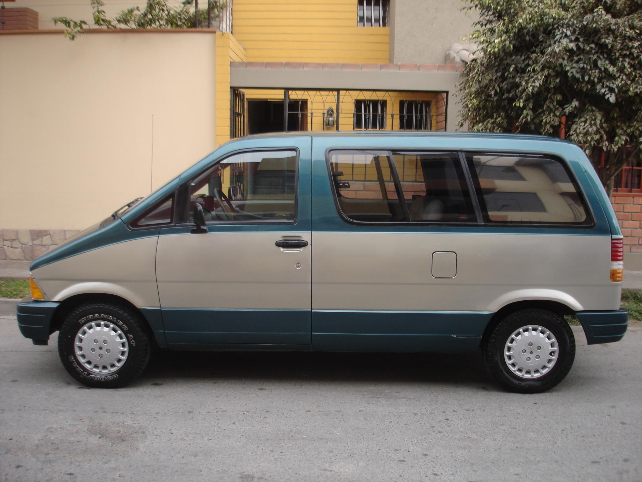 Ford Aerostar   pictures, information and specs - Auto-Database.com